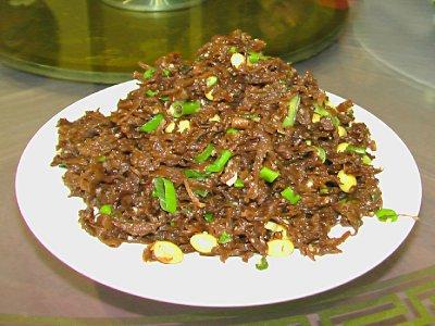 The great tasting Shanxi Pork