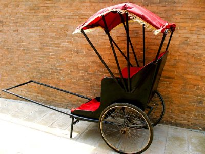 A Rickshaw Prop