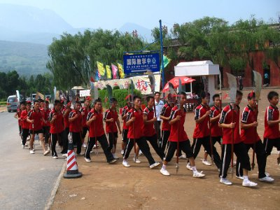Shaolin beginning Practicianers
