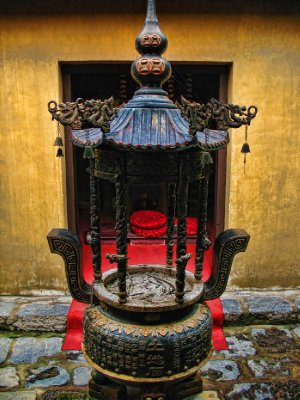 An unusual and old lantern