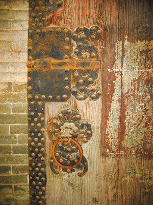 An Old Ming Door