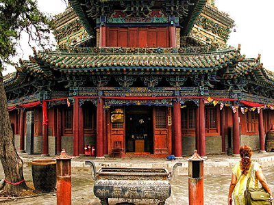 Ground floor corridor around the Front of the Pagoda