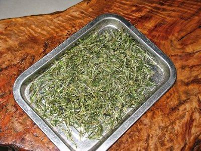 Some huangshan maofeng green tea