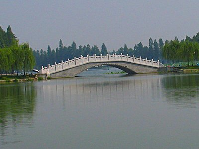 WEL Bridge with lotus