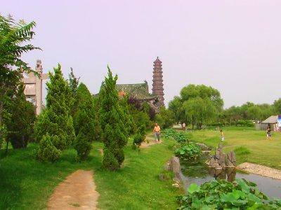 Youguo Temple Landscape