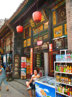 Street Scenes were heavily tourist oriented but authentic