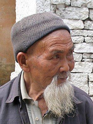 Bearded resident