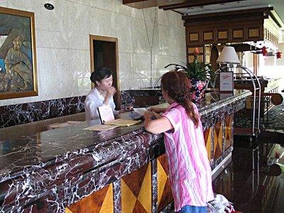 DBS Checkin At Dazu Hotel