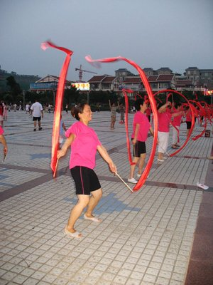 DCC Chinese Senior Exercising