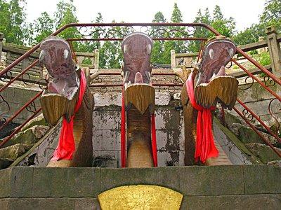 JZ  Wanshou Pagoda Hippos