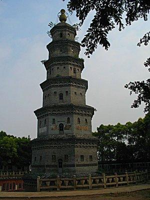 JZ Wanshou Pagoda View