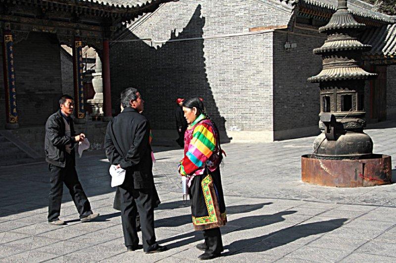 Tibetan visitors