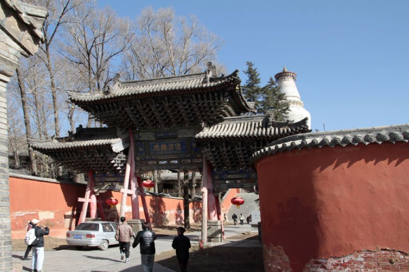 Taihua Temple Entrance