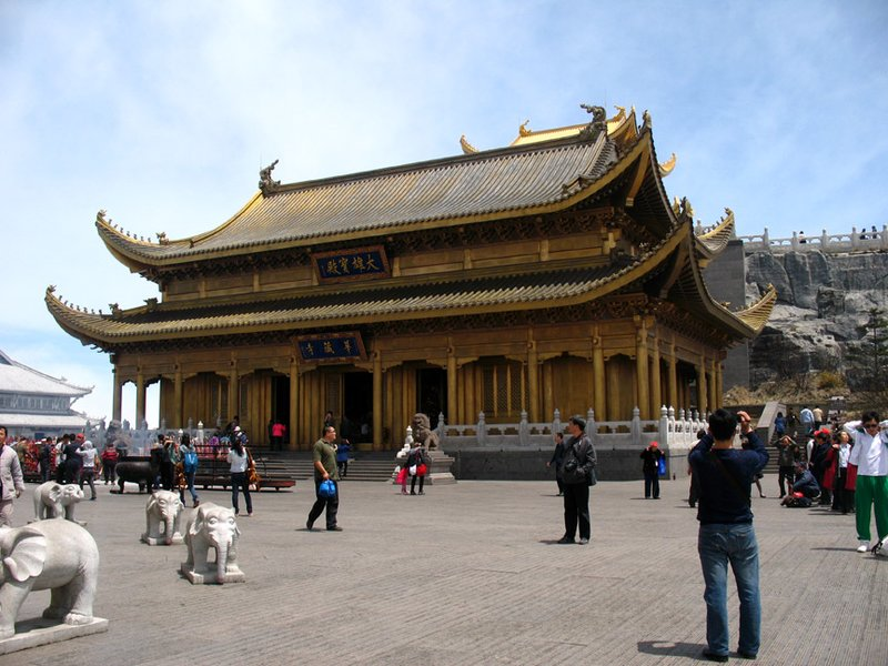 The Bronze Temple of Emei