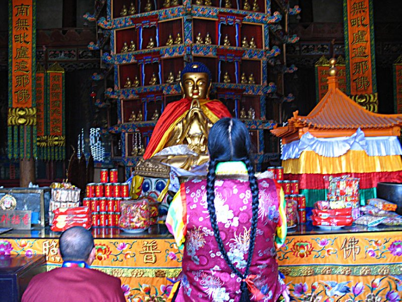 Praying Tibetans