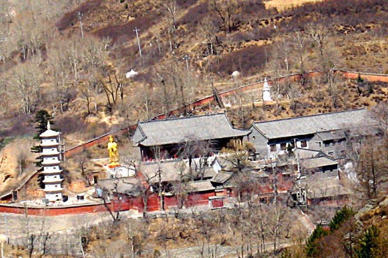 White pagoda complex