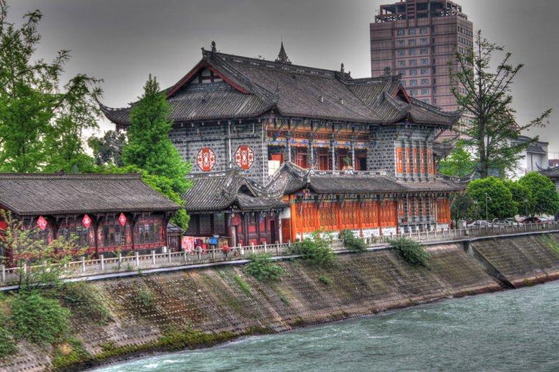 A Huge Restaurant Along The River
