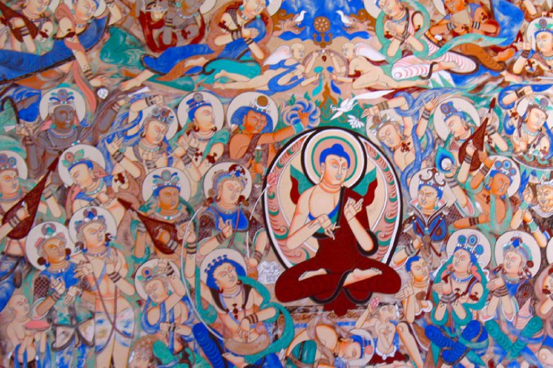 Buddhist wall paintings