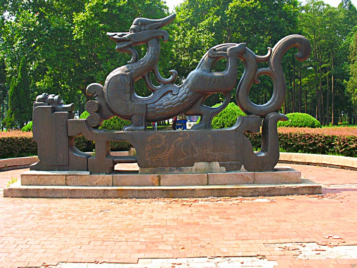 WEL Dragon Carving