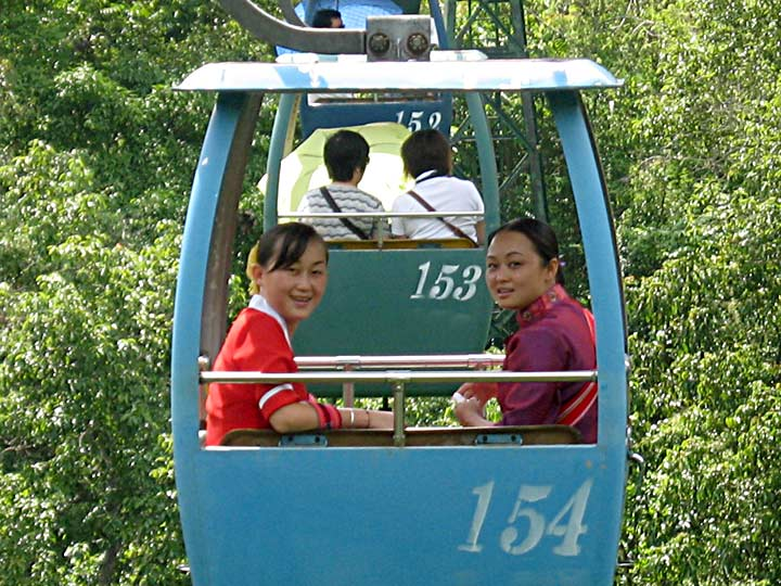 Yun Guide in Cable Car