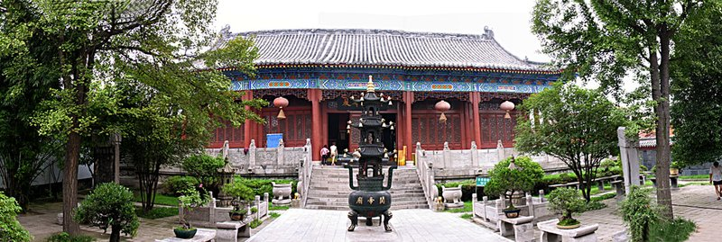 JZ Panorama Ancient Temple