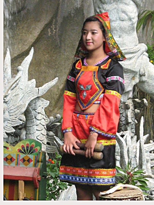 Yun minority girl