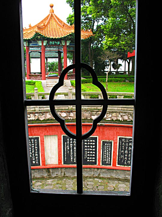 JZ Wanshou Pagoda Inside View