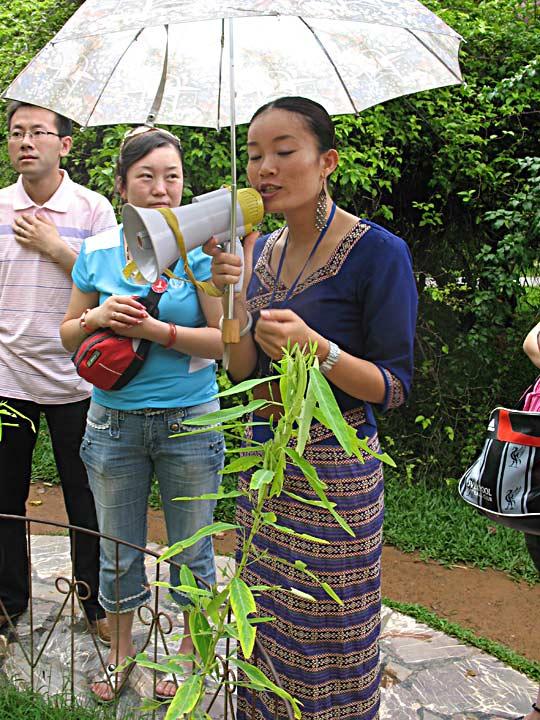 Yun Singing to plants