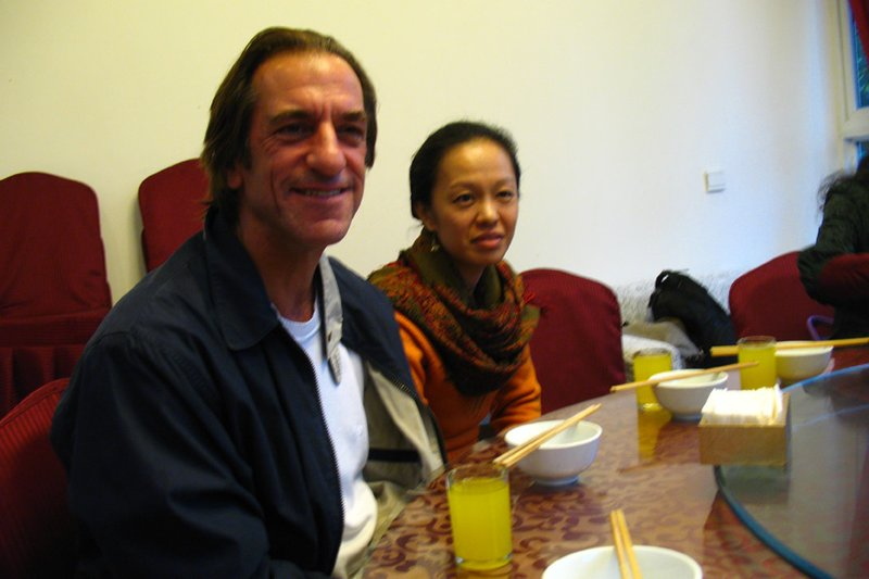 Lecturer And His Taiwanese Wife