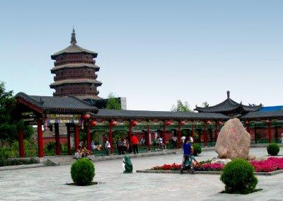 The Buddha Palace plaza