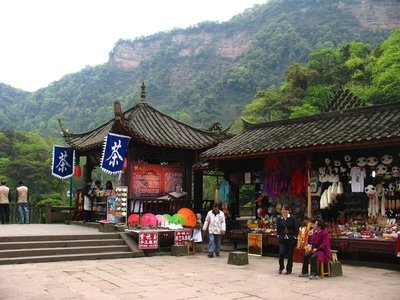 Shopping On Qingchong Mountain