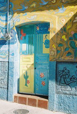 Ajijic Painted Door