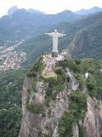 el cristo redentor de Rio de Janeiro