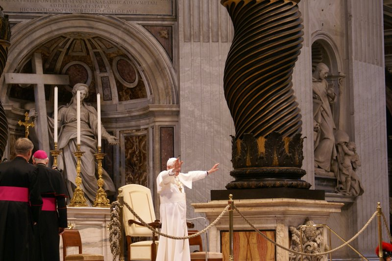 The Pope!