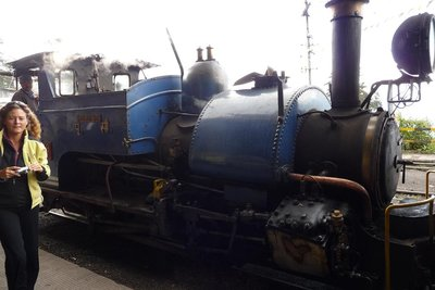 India - Darjeeling - toy train