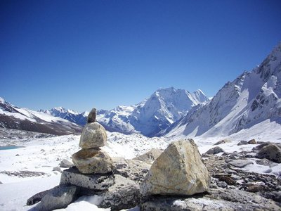 Manaslu - my little cairn