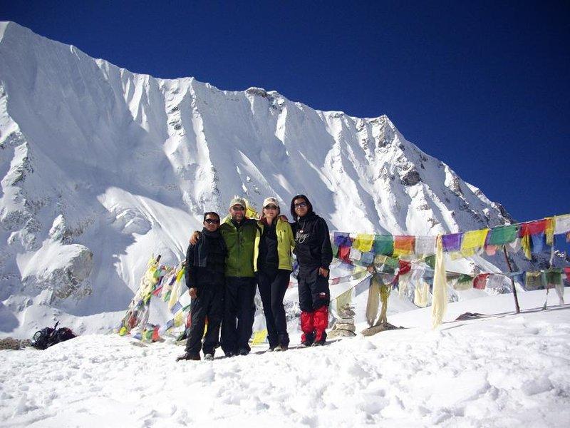 Manaslu - Larke La pass