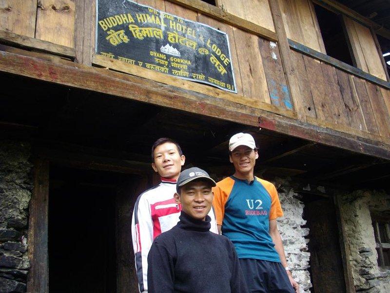 Manaslu - kitchen crew