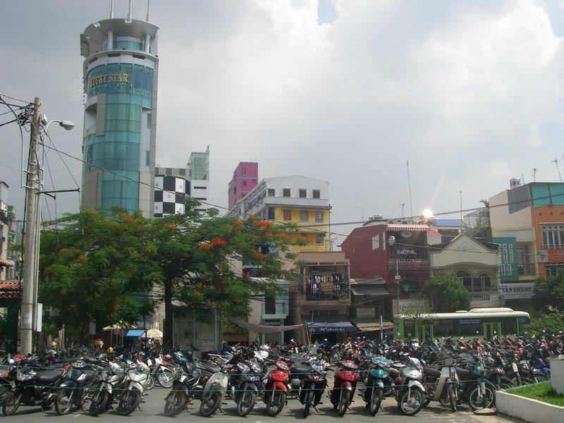 Cloudy day in Saigon