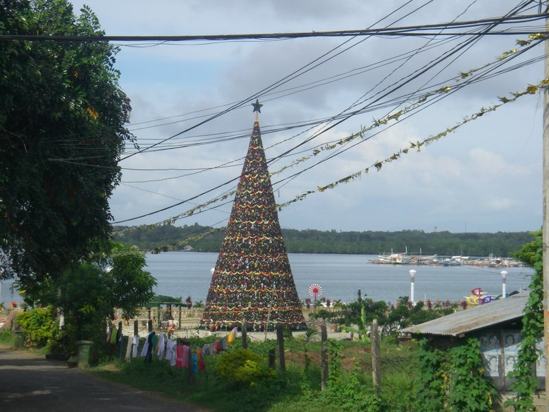 xmas tree in Puerto Princesa