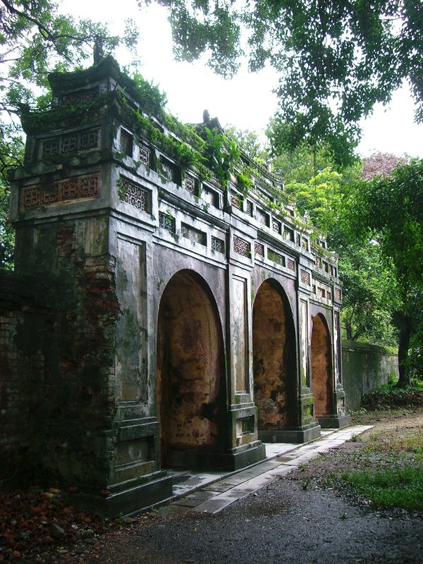 Gate in Vietnam
