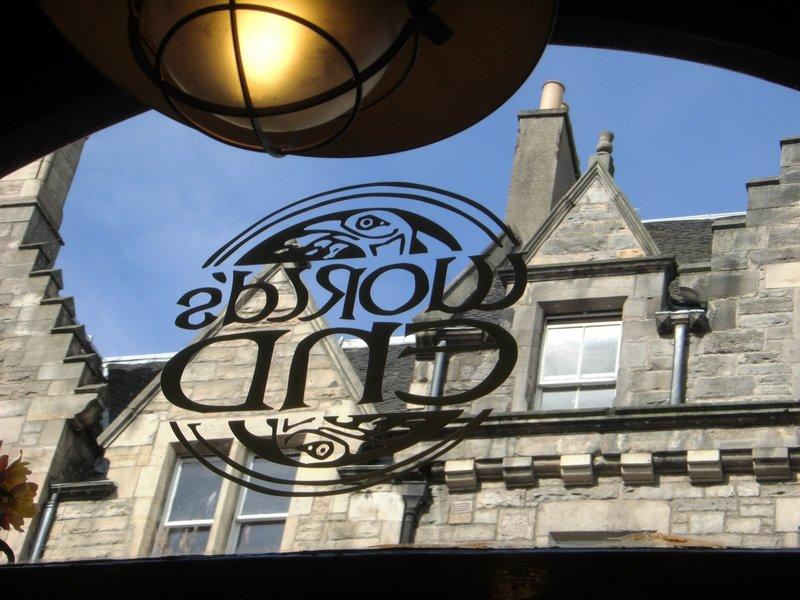 Worlds End Cafe in Edinburgh Scotland