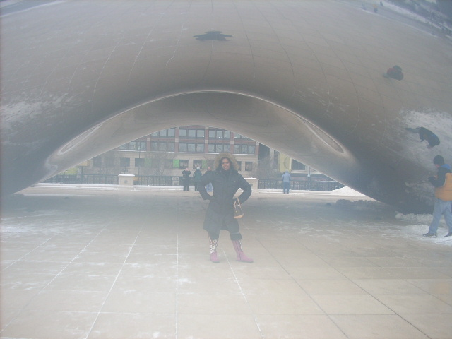 Millenium Park Sphere