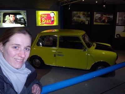 mr bean car