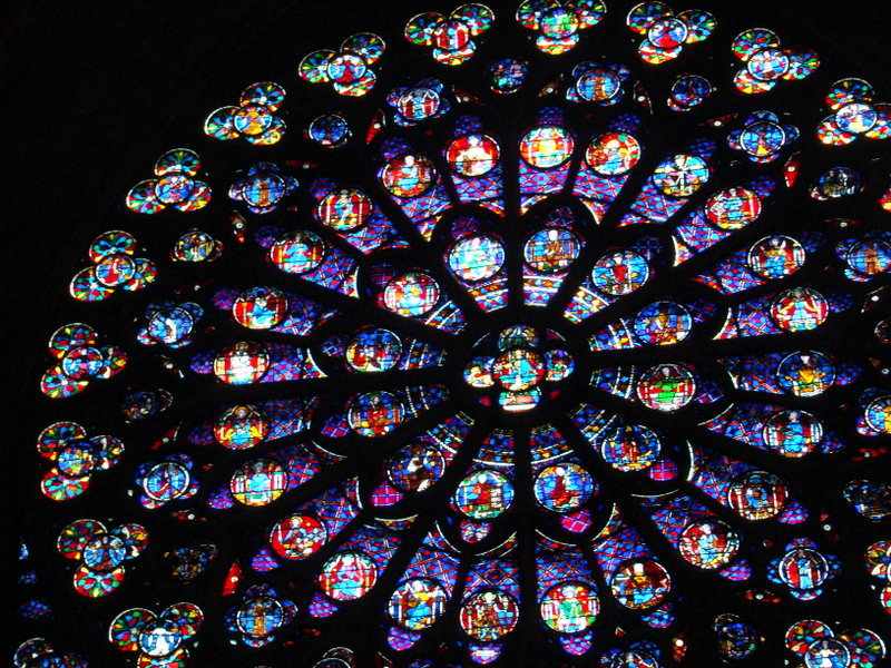A rose window