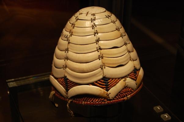 Small ivory helmet