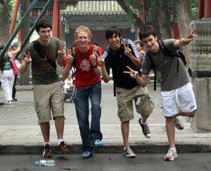 Will, Jacob, Matt, and Adam at SP