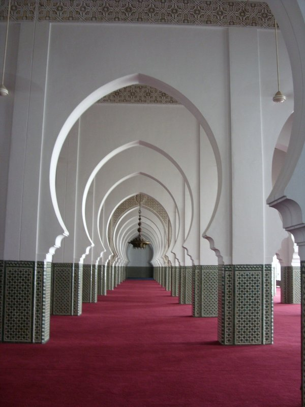Inside the main mosque
