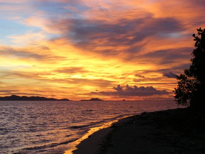 Sunset Bounty Island