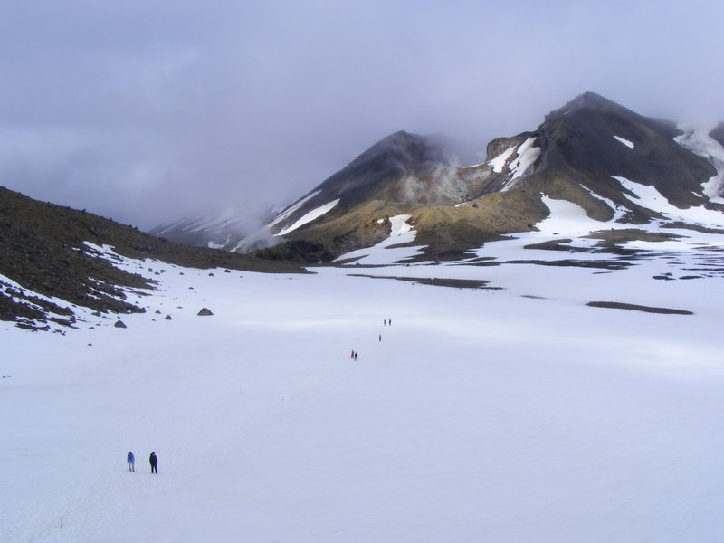 Tongariro Volcanic ridge